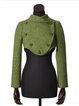 Casual Wool Blend Plain Outerwear