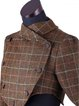 Vintage Checkered/plaid Wool Blend Outerwear