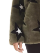 Army Green Long Sleeve Casual Outerwear