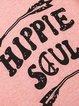 Women Short Sleeve Hippie Cotton-Blend V Neck Printed T-Shirts
