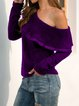 Long Sleeve Sheath Sweater