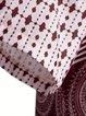Cotton-Blend Short Sleeve Printed Dresses