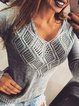 Vintage V Neck Shift Sweater