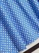 Printed Polka Dots V Neck Daytime Casual Dresses