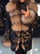 Winter Warm Fluffy Coat Faux Fur Jacket