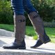 Zipper Daily Low Heel Knee-High Boots Womens Shoes