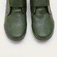 Mulheres costura zipper dedo do pé redondo casual botas de tornozelo