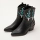 Women  Winter Slip-On Artificial Leather Ankle Boots