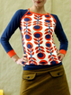 Casual Long Sleeve Floral-Print Crew Neck Shirts & Tops
