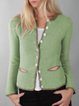 Vintage Shift Cotton-Blend Long Sleeve Sweater