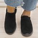 Womens Old Peking Shoes Plus Size Slip-On Sneakers