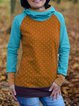 Hoodie Printed Long Sleeve Casual Sweatshirt