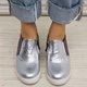 Women Slide Round Toe Flat Heel Pu All Season Sneakers