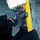 Black Low Heel Casual Boots