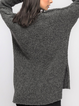 Knit Sweater Pullover Dress Loose Slouchy Sweater