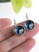 Women Jewelry Synthetic Materials Earrings