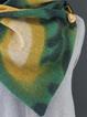 Wrap Scarves & Shawls Button Triangle Scarf