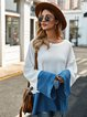 Blue Shift Casual Sweater