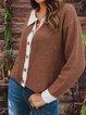 Long Sleeve Paneled Sweet Shirts & Tops