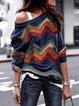 Plus Size Geometric Fashion T-Shirt