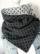 Wrap Polka Dots Printed Scarves & Shawls