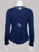 Long Sleeve Floral Shift Vintage Sweater