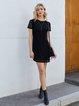 Black Short Sleeve Dresses