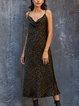 Black Leopard Print Dresses