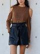 Khaki Casual Shirts & Tops