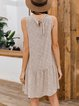 White Boho Shift Dresses