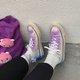Distressed Tie-Dye Gradient Harajuku Canvas Shoes