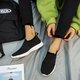Summer Flat Heel Fabric Closed Toe Casual Sneakers