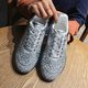 Sports Block Heel All Season Sneakers