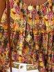 Casual Boho Flower Print Camisole