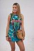 Round Neck Women Summer Dresses Shift Beach Boho Floral Dresses