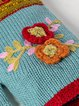Winter Casual Knit Gloves Handwarmers Cute Flower