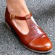Spring Leather Vintage Closed Toe Flats Shoes