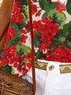 Floral Sleeveless Shirts & Tops