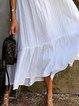 White A-Line Holiday Dresses