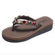Pi Clue Casual Summer Leather Slippers