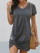 V Neck Casual Dresses
