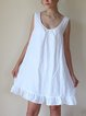 Women's  Casual Holiday Shift Cotton Dresses