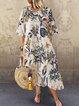 Floral Printed Casual Dresses