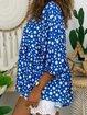 Daisy 3/4 Sleeve Holiday Shirts & Tops