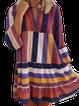 Floral-Print Casual V Neck Dresses