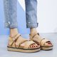 Pi Clue Artificial Leather Daily Sandals