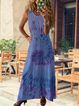 Women Plus Size Summer Maxi Dresses Casual Dresses