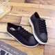 Pi Clue Hollow-Out Flat Heel All Season Date Sneakers