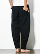 Men's Casual Baggy Cotton Harem Pants