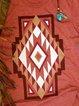 Vintage Short Sleeve Boho Geometric Printed Plus Size Casual Tops